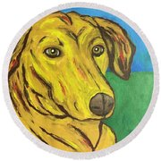 Howard Round Beach Towel