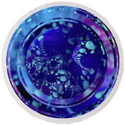 Hubble 3014 Round Beach Towel by Susan Maxwell Schmidt