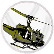Huey Round Beach Towel