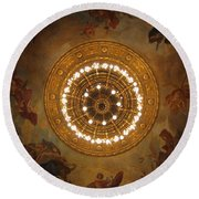 Hungarian State Opera House For Prints Round Beach Towel