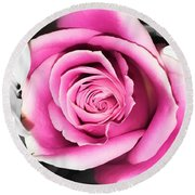 Hypnotic Pink 2 Round Beach Towel