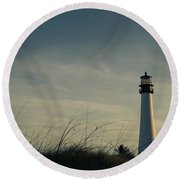 I Guess The Time Was Right For Us Round Beach Towel by Yvette Van Teeffelen