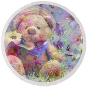 I Picked It For You 2015 Round Beach Towel