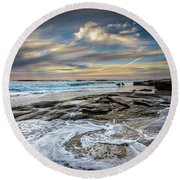 I Wish Round Beach Towel by Peter Tellone