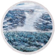 Ice Taffy Round Beach Towel