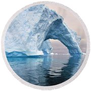 Iceberg Alley Round Beach Towel
