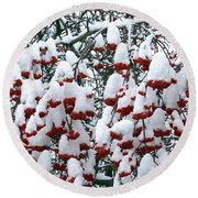 Round Beach Towel featuring the digital art Icing On The Cake 2 by Will Borden
