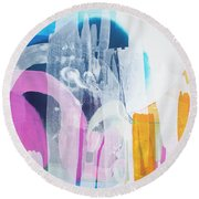 Icing On The Cake Round Beach Towel