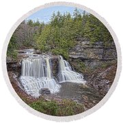 Iconic Falls Round Beach Towel