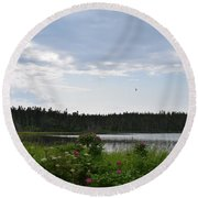 Images From Maine 2 Round Beach Towel