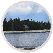 Images From Maine 3 Round Beach Towel