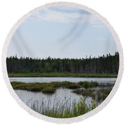 Images From Mt. Desert Island Maine 1 Round Beach Towel