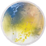 Hidden Valley Round Beach Towel