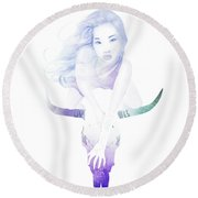Immortal Round Beach Towel