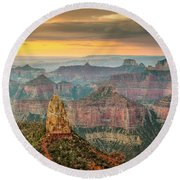 Imperial Point Grand Canyon Round Beach Towel