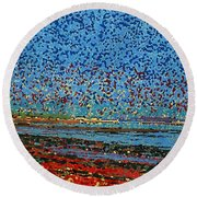 Impression - St. Andrews Round Beach Towel