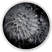 In Abstract Round Beach Towel