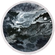 In Ashes Round Beach Towel