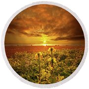 In Remembrance Round Beach Towel