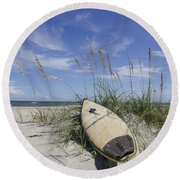 In The Dunes Round Beach Towel