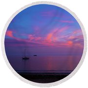 In The Gloaming Round Beach Towel