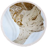 In The Moment 2 Round Beach Towel