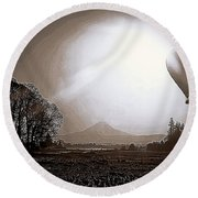 In The Year 1888 Round Beach Towel