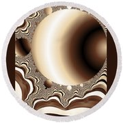 Into The Circle Round Beach Towel