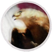 Independence Eagle Round Beach Towel