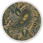 Indian Round Beach Towel