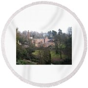 Industrial Heritage Round Beach Towel