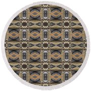 Industrial Round Beach Towel