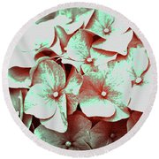 Inflorescences Round Beach Towel