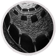 Initiation Well Round Beach Towel