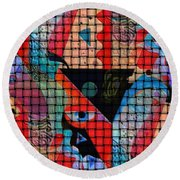 Inside Looking Out #1 Round Beach Towel