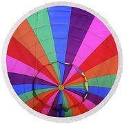 Inside Out Round Beach Towel