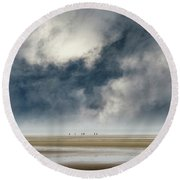 Insignificant Round Beach Towel