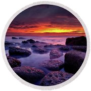 Round Beach Towel featuring the photograph Inspiration by Jorge Maia