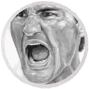 Intensity Federer Round Beach Towel by Tamir Barkan