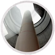 Intercontinental Ballistic Missile Silo Round Beach Towel