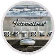 International Airstream Round Beach Towel