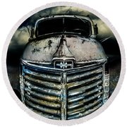 International Truck 7 Round Beach Towel
