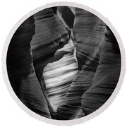 Into The Depths Round Beach Towel