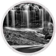 Into The Mystic Round Beach Towel