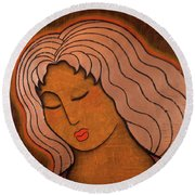 Intuitive Listening Round Beach Towel