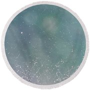 Inward Peace Round Beach Towel