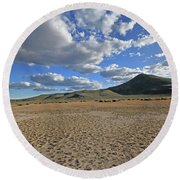 Iron Mountain Round Beach Towel