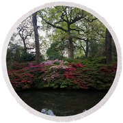 Isabella Plantation Round Beach Towel