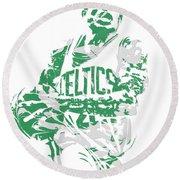 Isaiah Thomas Boston Celtics Pixel Art 15 Round Beach Towel