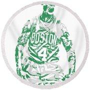 Isaiah Thomas Boston Celtics Pixel Art 16 Round Beach Towel